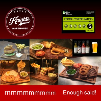 Knights Food Advert