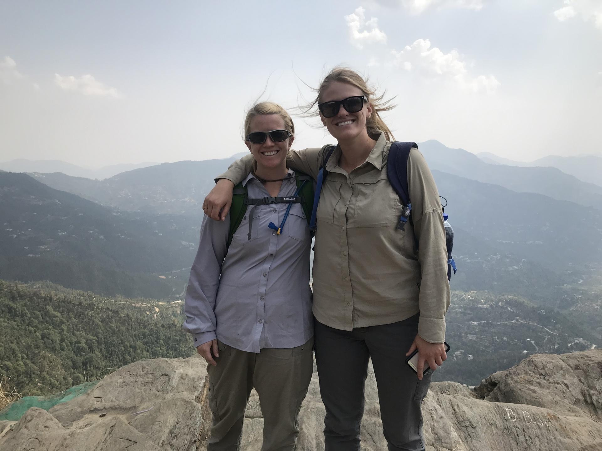 Dr. Muenich & Ellie in Uttrakahand