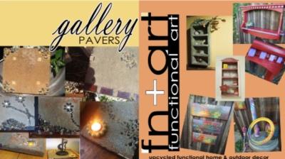 "Bo Freeman - ""Gallery Pavers"" & ""Fn+Art"" - Bo Freeman & Chris Walton"