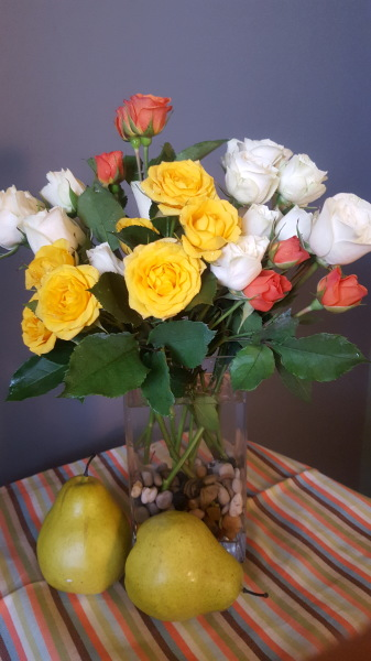 35) Spray Roses