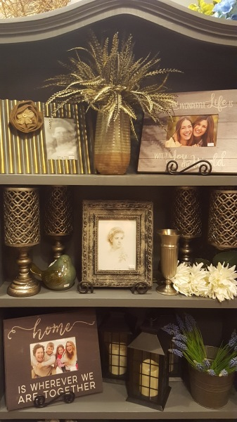 24) Picture Frames and Candle Holders