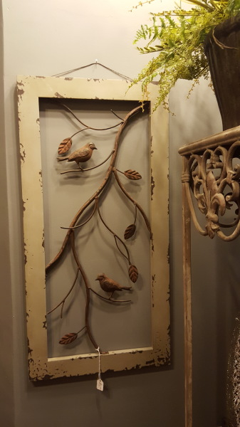 23) Wall Art...wood & metal