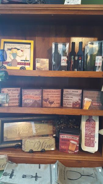 11) Wine Decor items