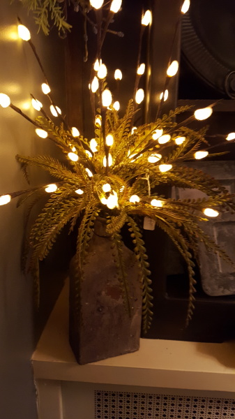 5) Lighted Willow Branches