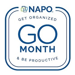 January is GO (Get Organized) Month