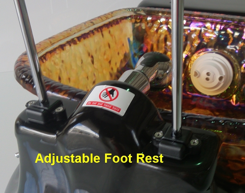 up and down foot rest