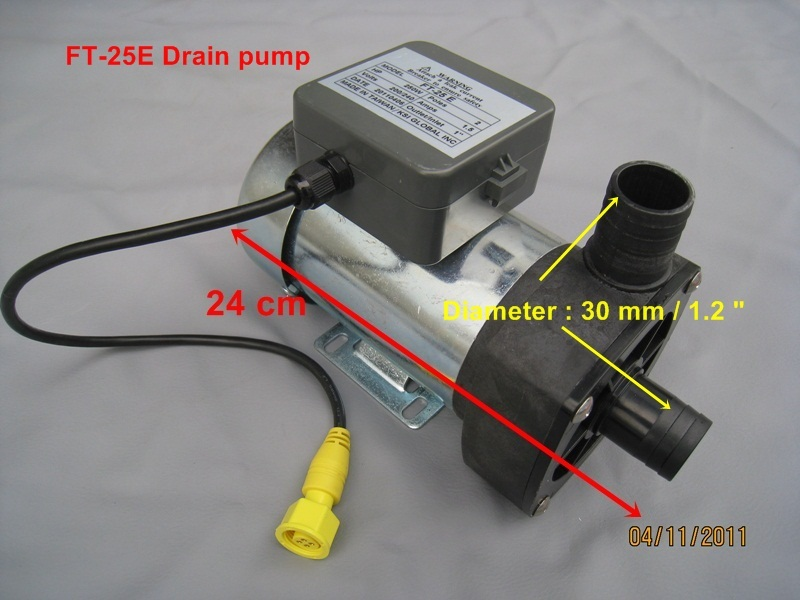pedicure drain pump