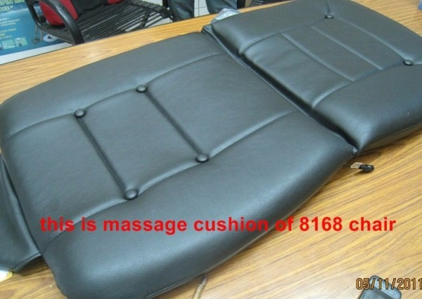removable massage pad for easy services