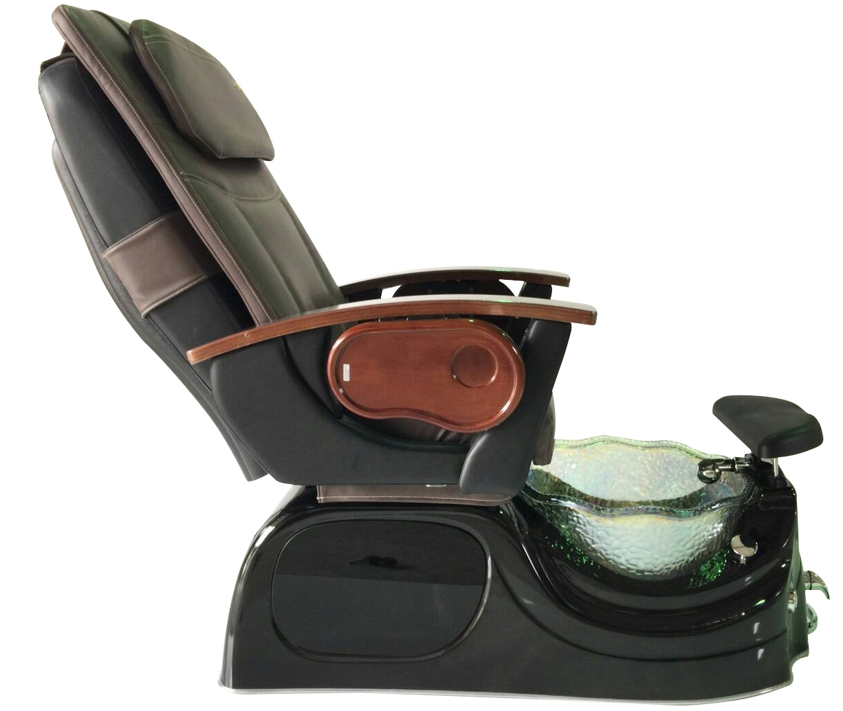 glass bowl spa pedicure chair