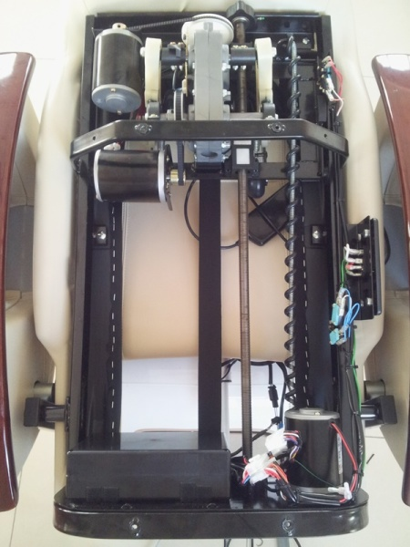 Shiatsu massage system of pedicure spa chair
