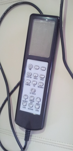 LCD remote screen