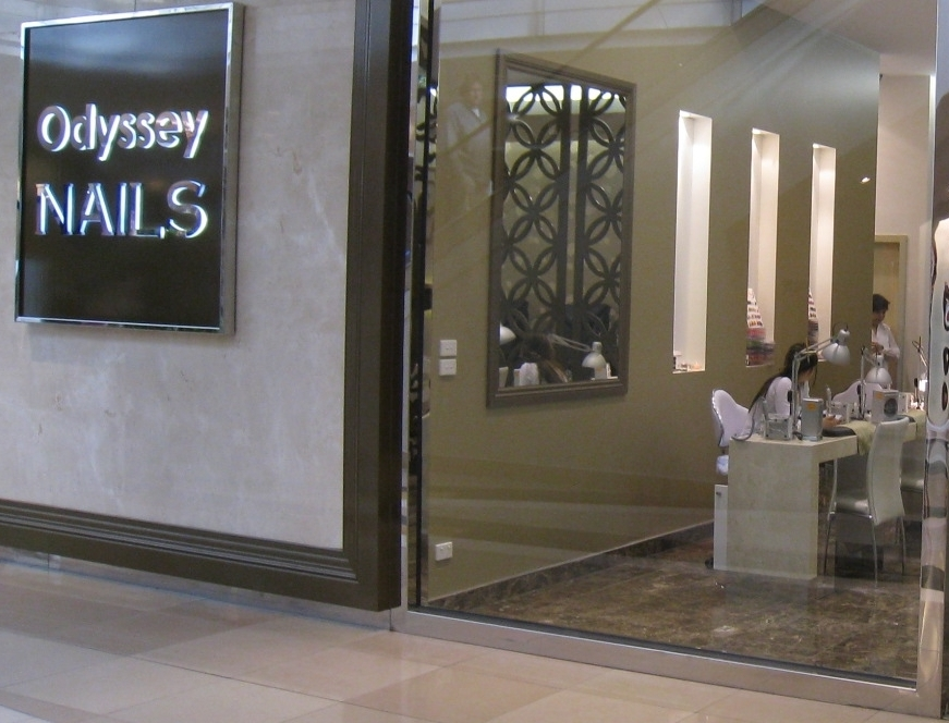 Odyssey nail salon installed kalopi spa
