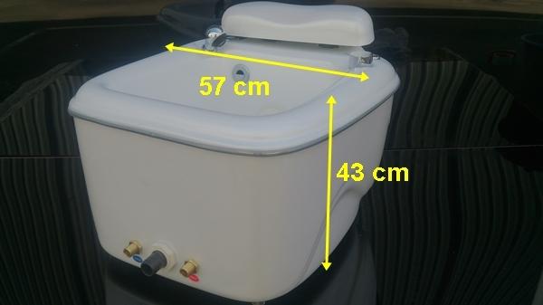 portable spa size