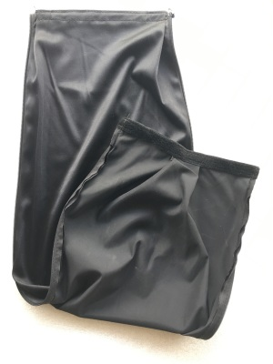 Zipper machine cover