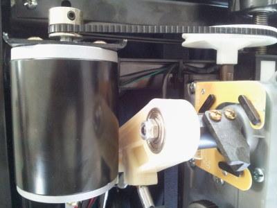 Motor of kneading