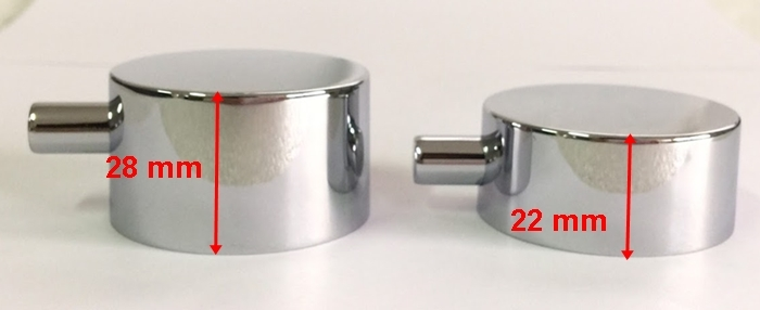 28 mm and 22mm Drain Knob
