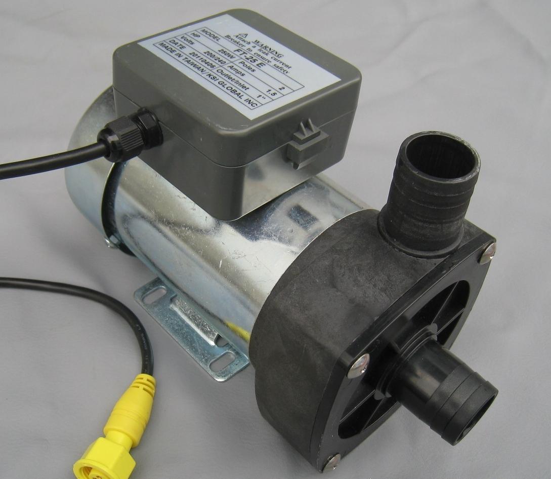 pedicure discharge pump