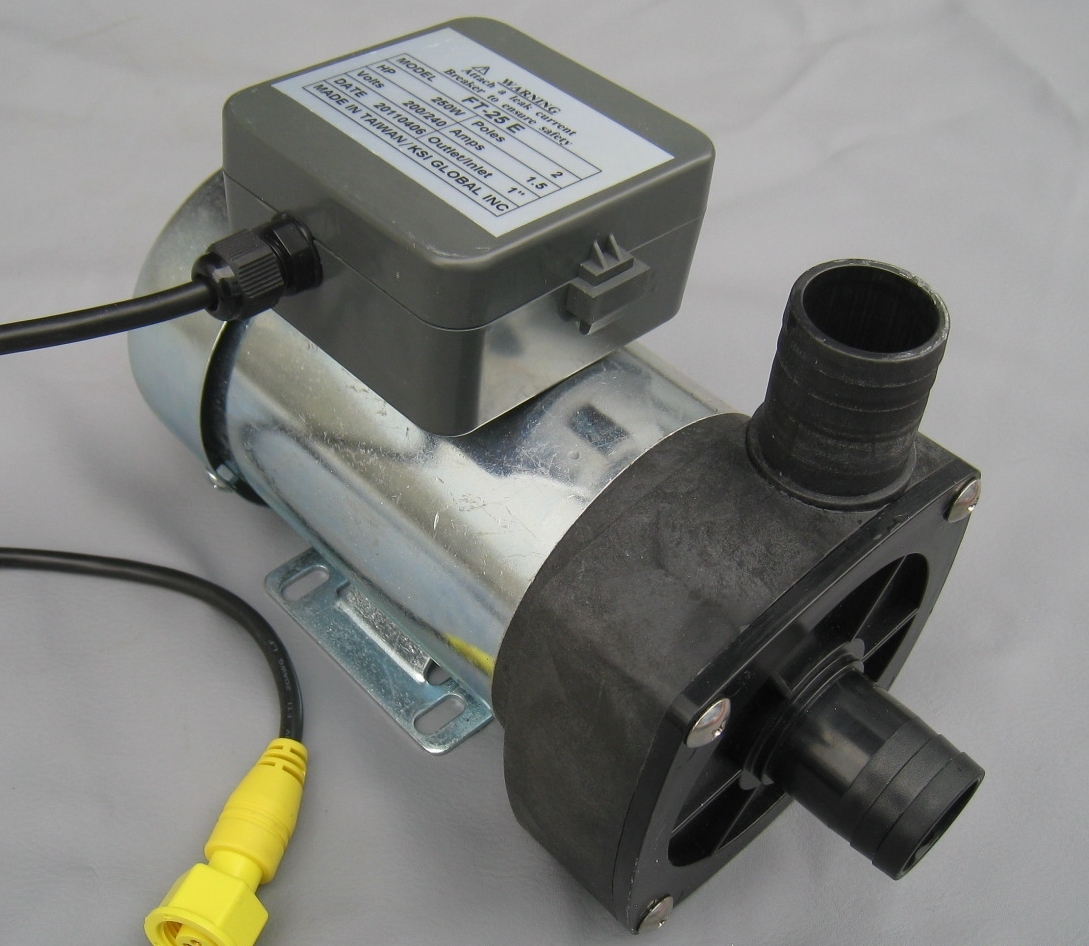 pedicure discharge pump