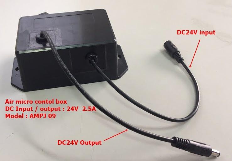 AMPJ 09  Switch box of motor