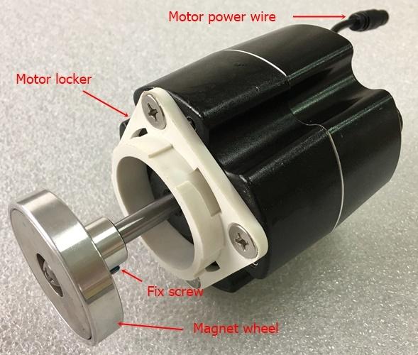 AMPJ 06 DC24V motor