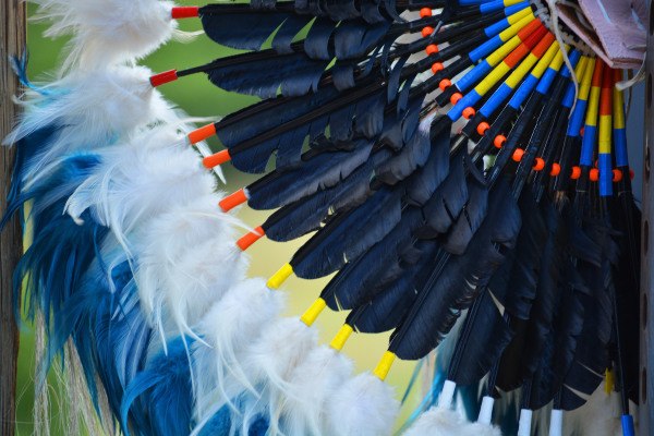 Native American, feathers, decorations, regalia