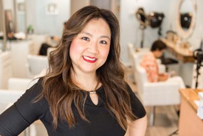 Nae, Owner of SoNae Hair and Organics Salon