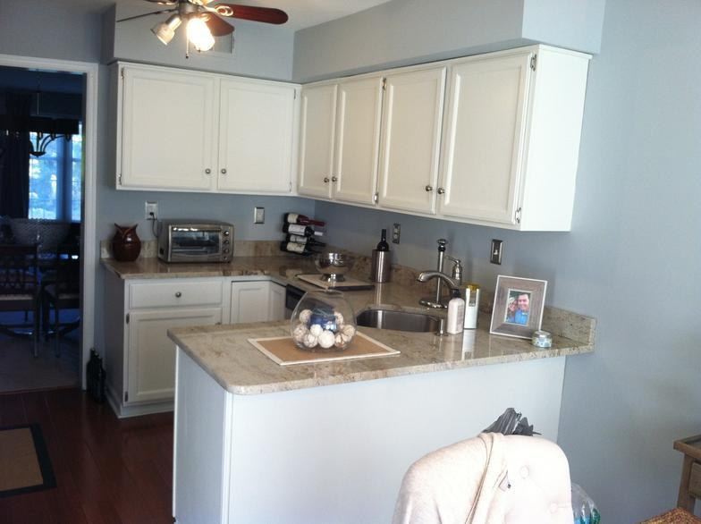 Kitchen Cabinet Painting