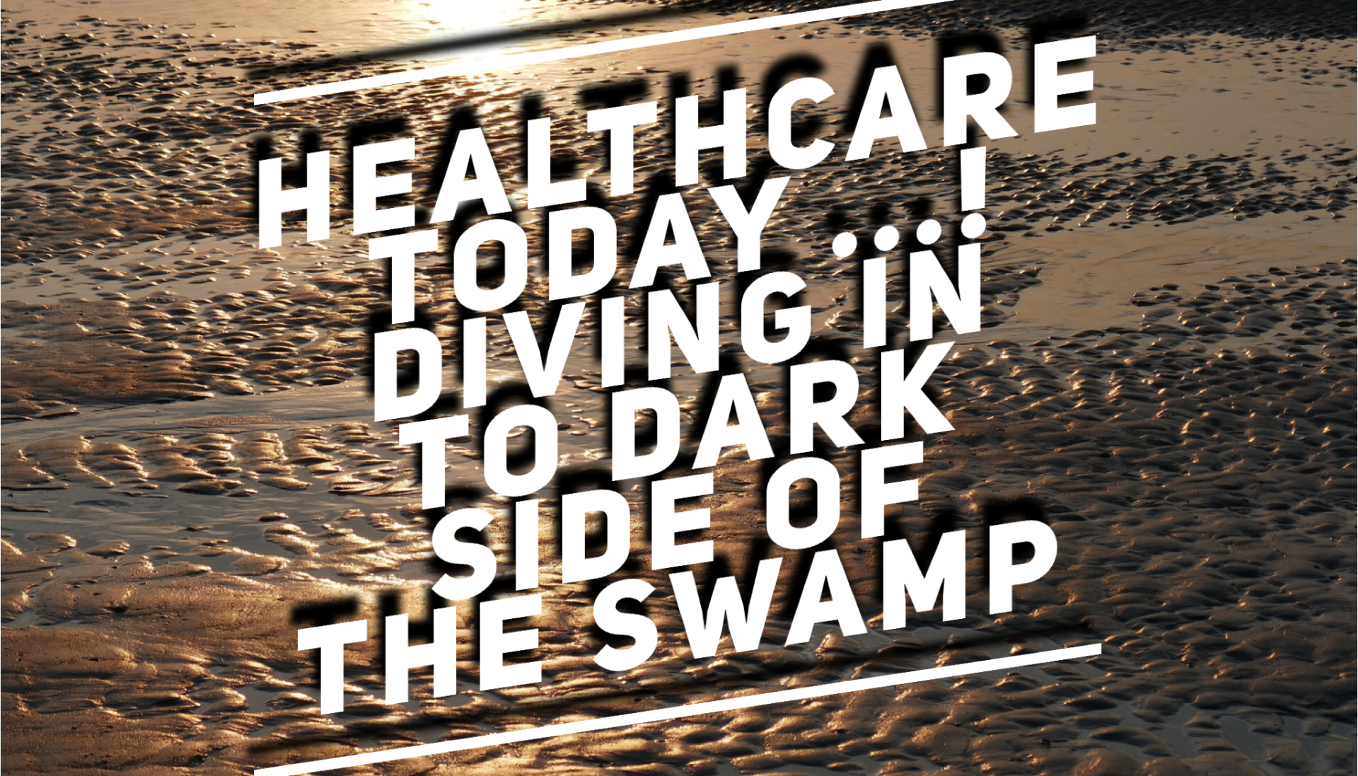 Can We Clean the Swamp of Healthcare?