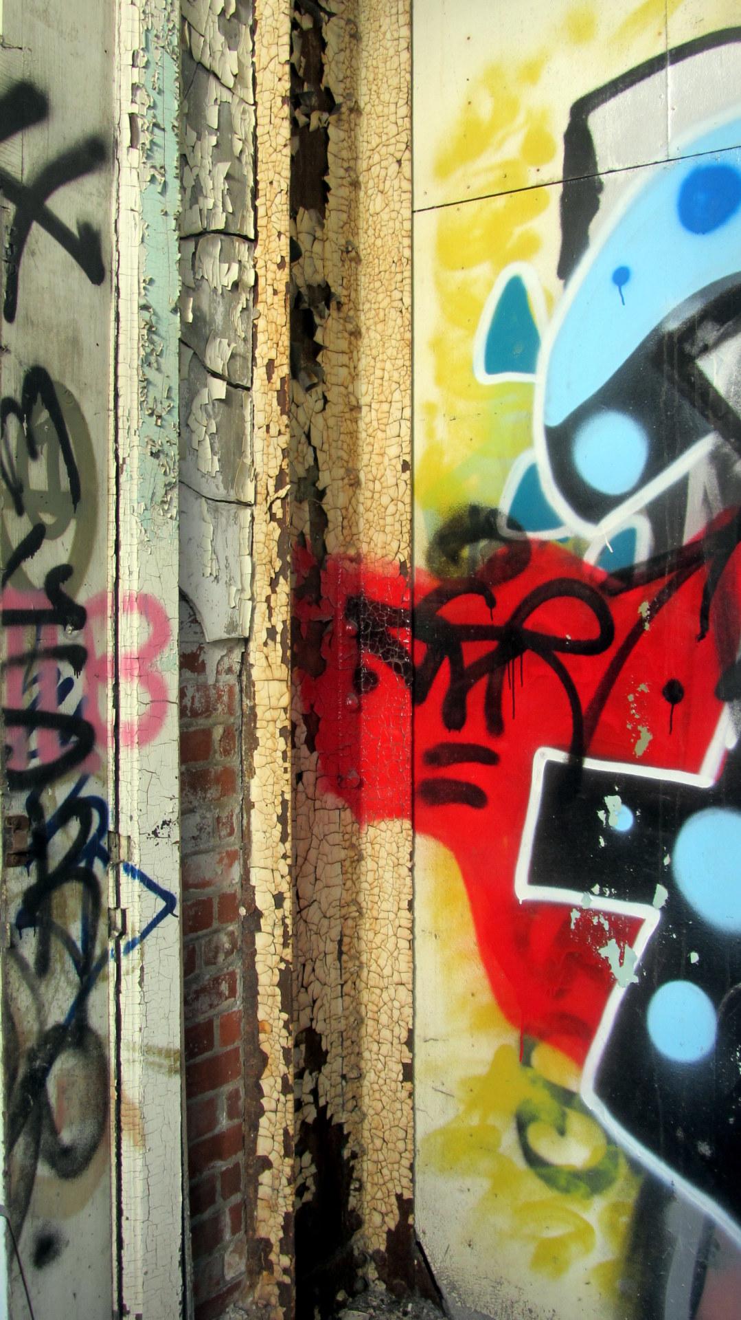 photo grafitti wall