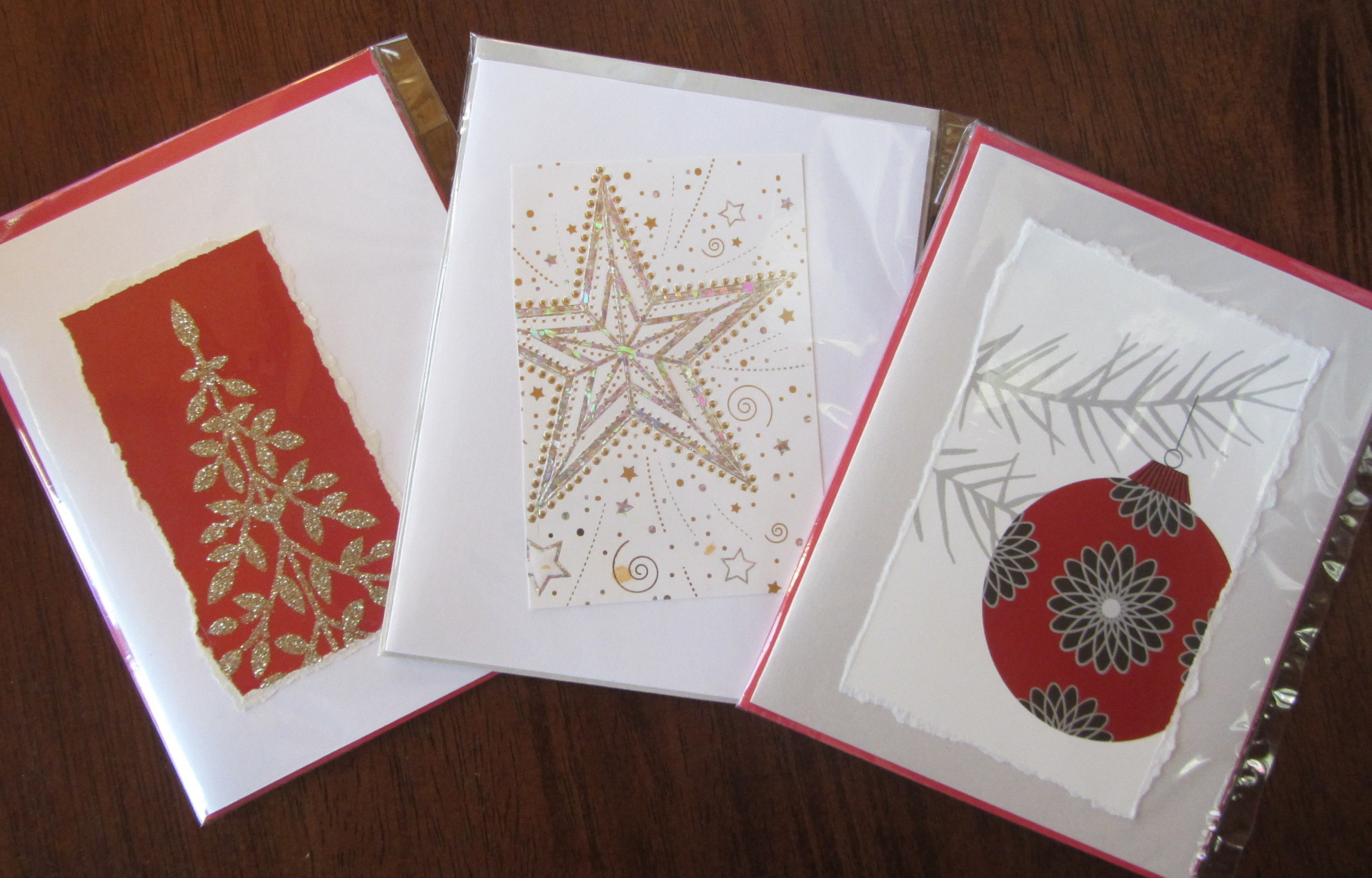 Recycled holiday cards