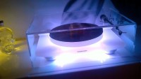 Great Custom Acrylic Turntable and AMP dust covers.