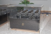 Clear Lucite AMP and Turntable Dust Covers