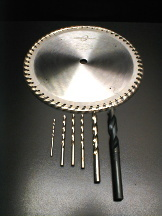 Acrylic Lucite Plastic Saw Blades and Drill Bits