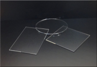 Clear round, square, rectangle, Protective Acrylic tabletop and desk tops.