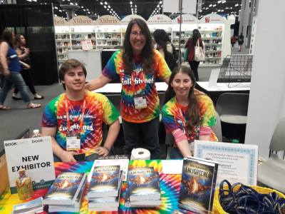 Fun at Book expo and Book con
