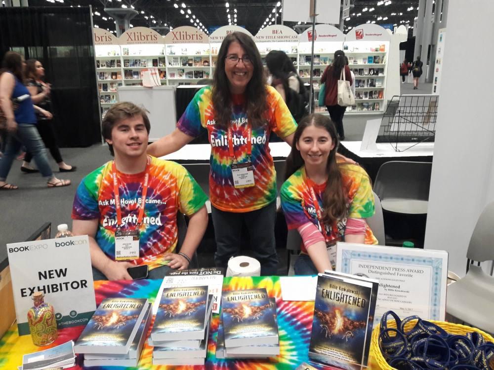 Fun at Book expo and Book con