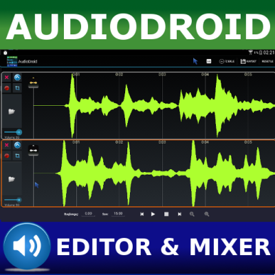 AudioDroid: Audio Mix Studio