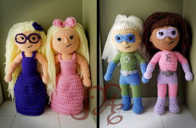 Girl Amigurumi Dolls