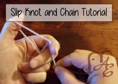 Slip Knot and Chain Tutorial