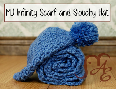 MJ Infinity Scarf and Slouchy Hat
