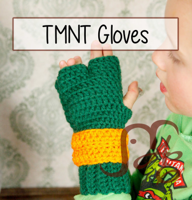 TMNT Gloves