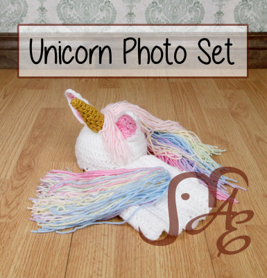 Unicorn Photo Set