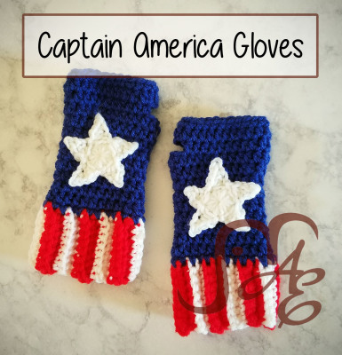 Captain America Gloves