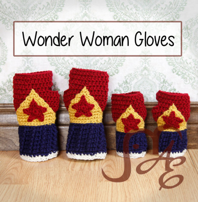 Wonder Woman Gloves