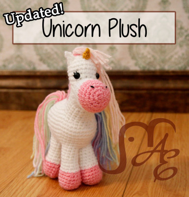 Unicorn Plush Updated