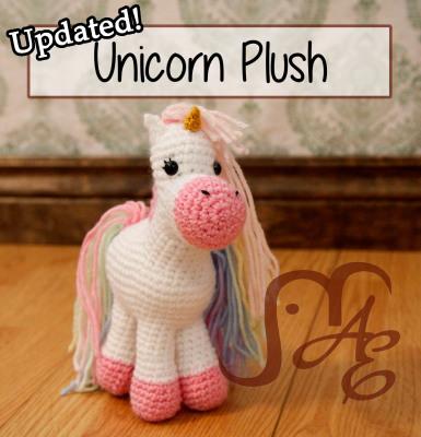 Unicorn Plush Updated
