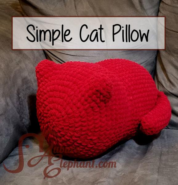 Simple Cat Pillow