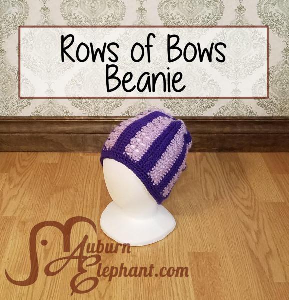 Rows of Bows Beanie
