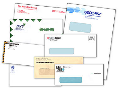 We print envelopes in Chesapeake for Hampton Roads, Virginia