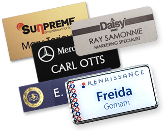 Order your name badges from Precision Printers in Chesapeake for Hampton Roads, Virginia